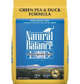 Natural Balance Natural Balance green pea & duck cat food