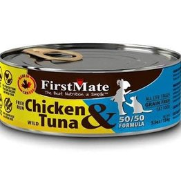 First Mate FirstMate GF LID Chicken/Tuna Cat Food Can 5.5oz