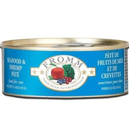 Fromm Cat Food Can Shrimp and Seafood 5.5oz
