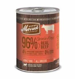 Merrick Merrick 96% Real Beef Can 13oz