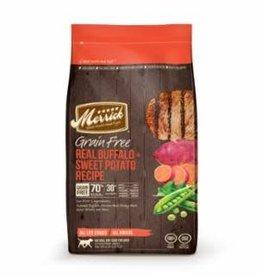 Merrick Merrick GF Buffalo and Sweet Potato Dry