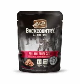 Merrick Merrick Backcountry Real Beef Cuts Cat Pouch 3oz