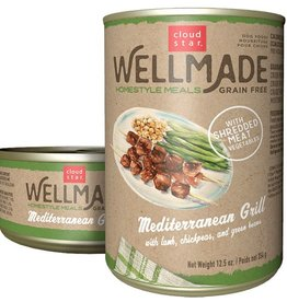 Cloud Star Wellmade Mediterranean Grill (Case of 12 cans)