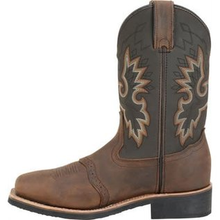"Double H Men's 11"" Wide Square Toe Safety Toe Roper DH4658"