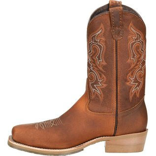 "Double H Men's 11"" Domestic Wide Square Steel Toe Work Western DH5628"