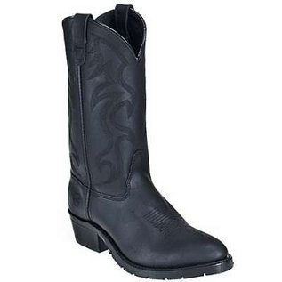 Double H Men's 3283 USA-Made Pull-On Leather Cowboy Work Boots
