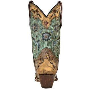 Dan Post Women's Vintage Blue Bird Western Boot DP3544