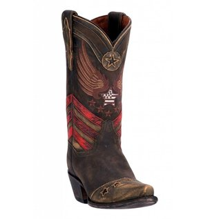 Dan Post Women's Distressed N'Dependence Cowgirl Boot Snip Toe - DP3676