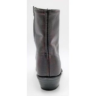 Abilene 7″ Black Cherry Cowhide Zipper 6463