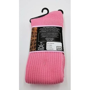 Dan Post Womens Socks Over Calf 7-9.5 Pink