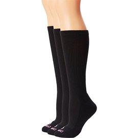 Dan Post Womens Socks Over Calf 7-9.5 Black
