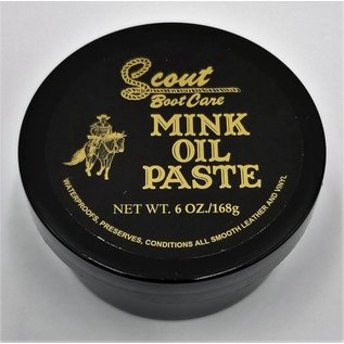 Scout Mink Oil Paste 6oz