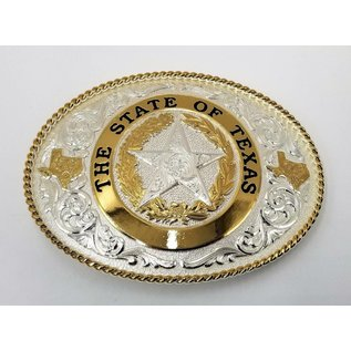 Montana Silversmiths State of Texas Buckle