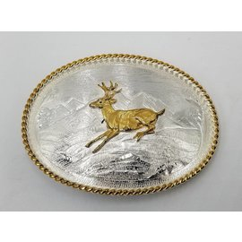 Montana Silversmiths Mountain Scene Western Belt