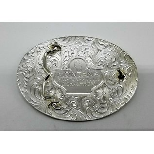 Montana Silversmiths Antiqued American Pride Buckle