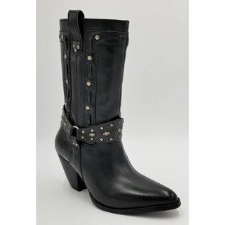 Dingo Black Studded DI12379
