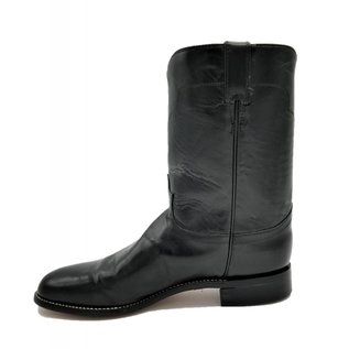 Distressed Black Roper 7701M