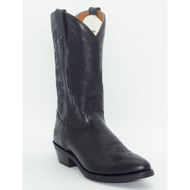 """Double H 12"""" Black Work Western Boot DH3256"""