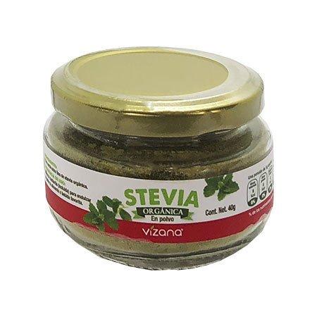 Stevia en Polvo Orgánica Vizana 40 gr.