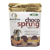 Choco Spring Malteada de Espirulina con Cacao y Avena; Spiral Spring 250 gr.