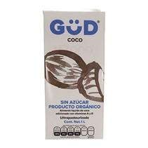 Leche de Coco Orgánica Sin Azúcar GüD 1 L.