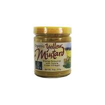Yellow Mustard. Mostaza Amarilla Orgánica 255 gr.