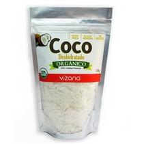 Coco Rallado Deshidratado Orgánico Vizana 150 gr.