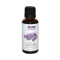 Aceite Esencial de Lavanda Now 30 ml.