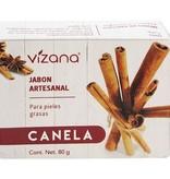 Jabón Natural de Canela Vizana 80 gr.