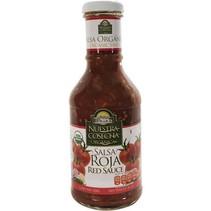Salsa organica Roja San Miguel 450g