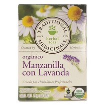 Té de Manzanilla con Lavanda Traditional Medicinals 24 gr.