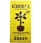 Chocolate obscuro con lima y almendras 72  Cacao Ki  Xocolatl 80g