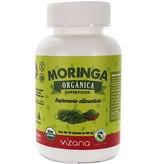 Moringa Orgánica en Cápsulas Vizana 90-400 mg.