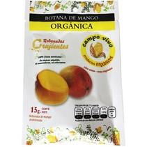 Botana de Mango Orgánica Deshidratada Campo Vivo 15 gr.