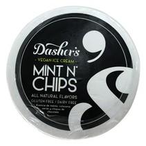 Nieve Vegana Mint Chips Dasher's 8 Oz.