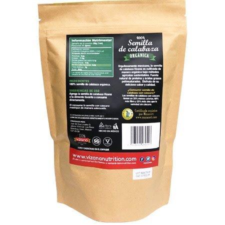 Semilla de Calabaza Orgánica Vizana 300 gr.