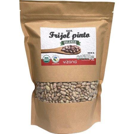 Frijol Pinto Organico Vizana 1 kg.