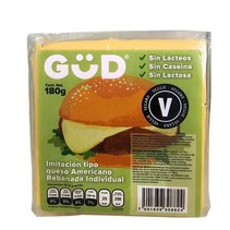 Queso Vegano en Rebanada GUD 180 gr.
