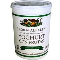 Yogurt Frutas del Bosque Flor de Alfalfa 1 L.