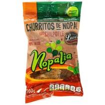 Churritos de Nopal con Chipotle Nopalia 100 gr.
