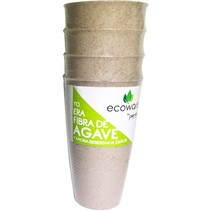 Vasos de Fibra de Agave  Avena Ecoware 4 pz.