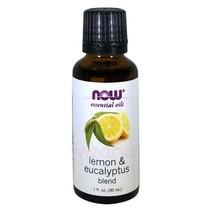 Aceite Esencial de Limón y Eucalipto Now 30 ml.