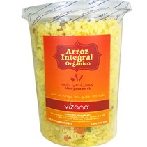 Arroz Integral Preparado con Verduras Vizana 650 gr.