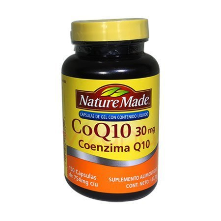 Coenzima Q10 Naturemade 150-754 mg.