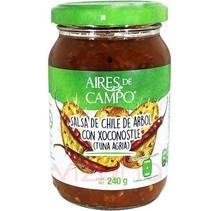 Salsa de Chile de Árbol con Xoconostle ADC 240 gr.