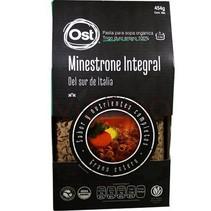 Pasta Minestrone Integral Organica OST 454gr