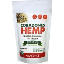Corazones de Hemp Vizana 200 gr.
