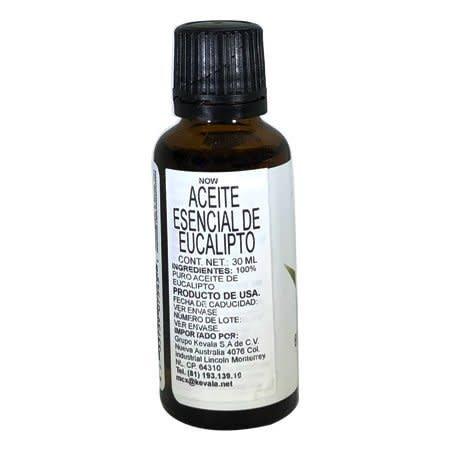 Aceite Esencial de Eucalipto Now 30 ml.
