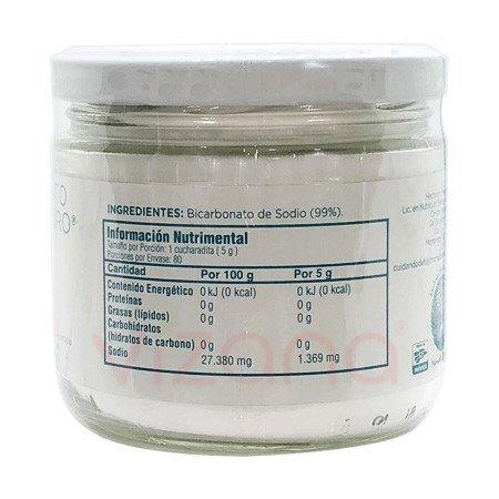Bicarbonato de Sodio Puro BS 400 gr.
