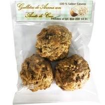 Galletas de Avena con Aceite de Coco 100 gr.